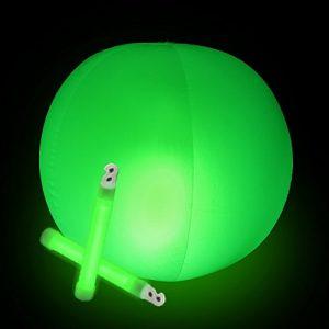 Glowing Beach Balls