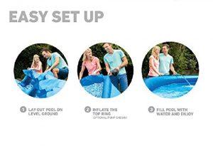 Intex Easy Set Steps