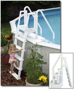 Swim Time Easy Pool Step with Outside Ladder