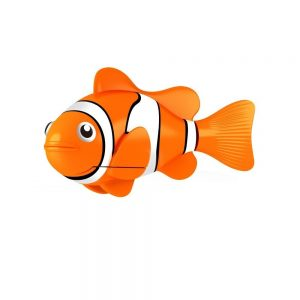 Robo Fish Water Activated Orange Clownfish