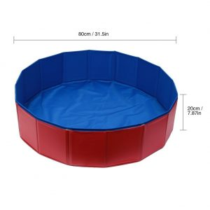 Fuloon PVC Portable Foldable Pet Swimming Pool