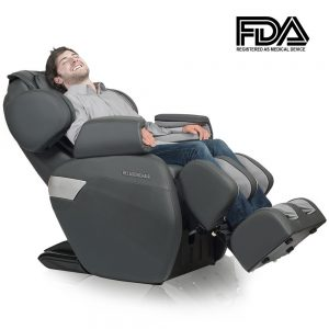RELAXONCHAIR [MK-II PLUS] Full Body Zero Gravity Shiatsu Massage Chair with Built-In Heat and Air Massage System