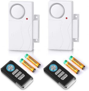 Wsdcam Wireless Remote Door Alarm Windows Open Alarms Magnetic Sensor Pool Alarm