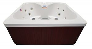 Hudson Bay Spas 4 Person 14 Jet Spa with Stainless Jets