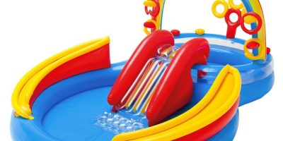 Intex Rainbow Ring Inflatable Play Center 2020 Review