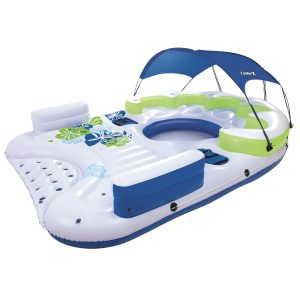CoolerZ X5 Canopy Island Floating River Raft