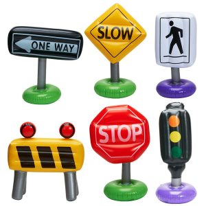 Inflatable Traffic Signs
