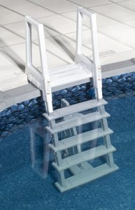 Confer Plastics' In-Pool 45-56 Inch Deluxe Pool Ladder