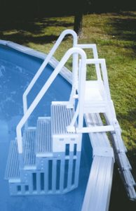 Confer's In-Pool Step and Ladder Complete Set