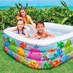 Intex Swim Center Clearview Aquarium Inflatable Pool