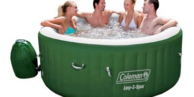 Coleman lay-Z Spa Inflatable Hot Tub (Lazy Spa) Review 2020