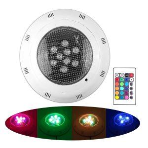 LemonBest New RGB LED Swimming Pool Underwater Light