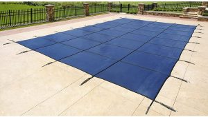 Blue Wave 18-ft x 36-ft Rectangular In Ground Pool Safety Cover