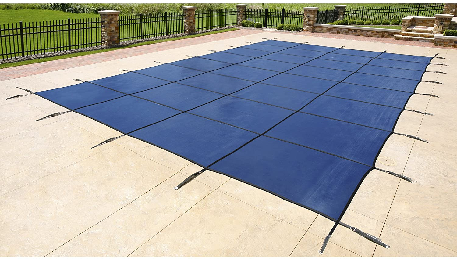 Blue Wave In-ground Safety Cover