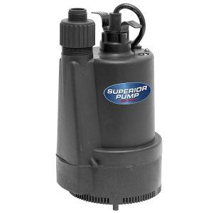 Superior Pump 91330 Submersible Utility Pump