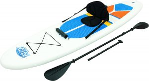 HydroForce White Cap Inflatable Stand Up Paddleboard SUP and Kayak