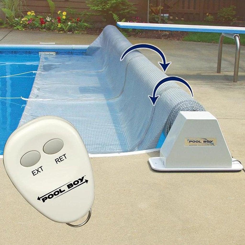 Pool Boy Powered Solar Blanket Reel