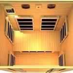 JNH Lifestyles 2-Person Far Infrared Sauna