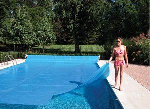 16 mil Solar Heating Cover Blanket - 20 x 40 ft Rectangle Sheet